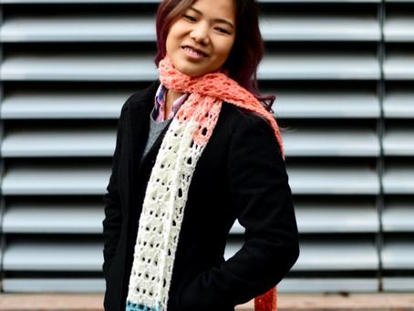 Crochet Pegasus Spring Scarf Pattern