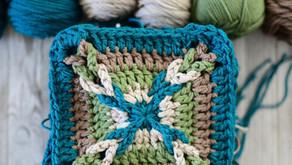 Crochet Granny Square Pattern + Video Tutorial