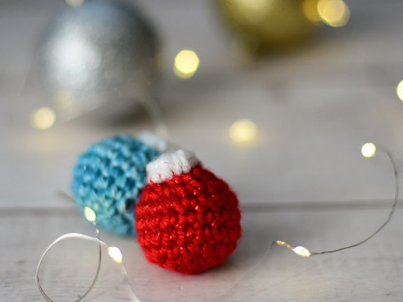 Crochet Mini Ornament Pattern