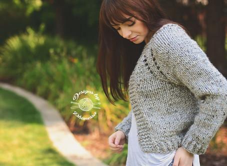 Knit Chunky Cardigan KAL - Week 4