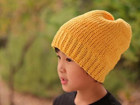 Simple Tunisian Slouch Beanie Pattern + Tutorial.