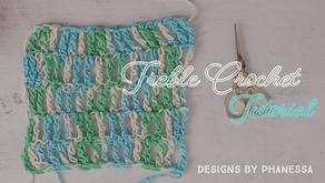 Crochet Treble (Triple) Stitch Tutorial