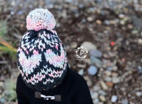 Knit Sweetheart Slouch Pattern Release