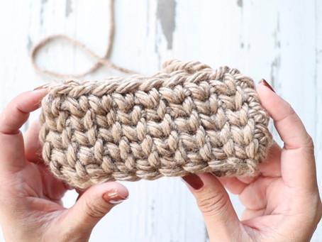 Crochet Waistcoat Stitch Tutorial (in the round)