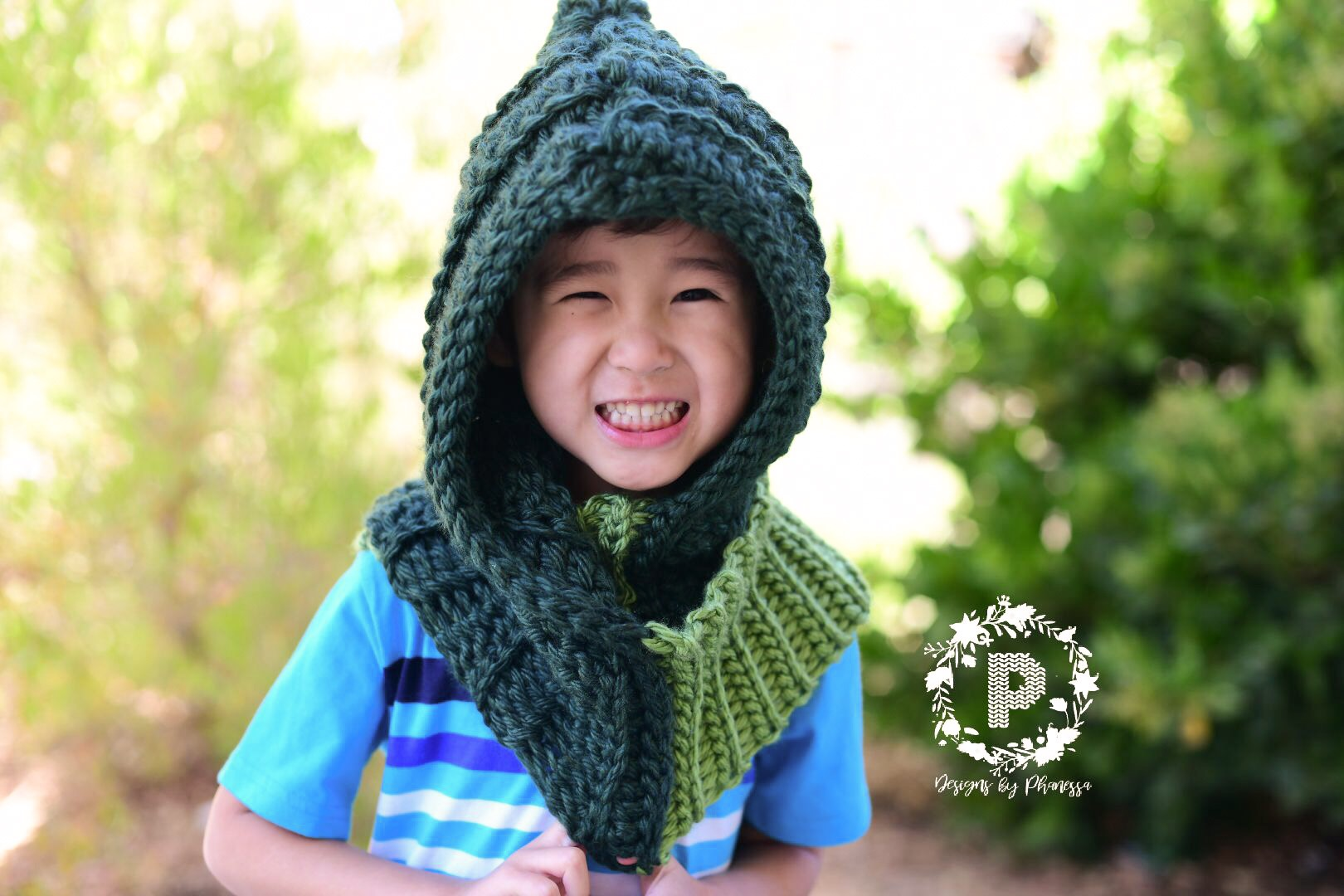 Free Crochet Pattern For Hooded Scarf With Pockets Unique Ideas