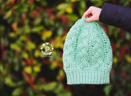 Crochet Braided Slouch Pattern Release