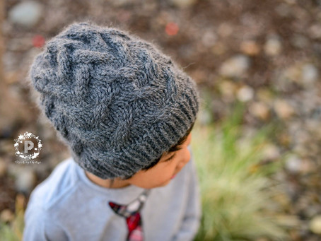 Knit Sandy Slouch Beanie Pattern
