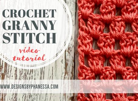 Crochet Granny Stitch Pattern + Video Tutorial