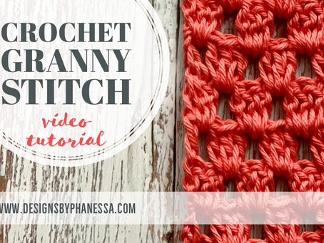 Crochet Granny Stitch Pattern + Video Tutorial