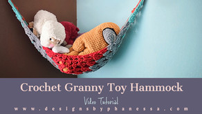 Crochet Toy Hammock Pattern + Tutorial