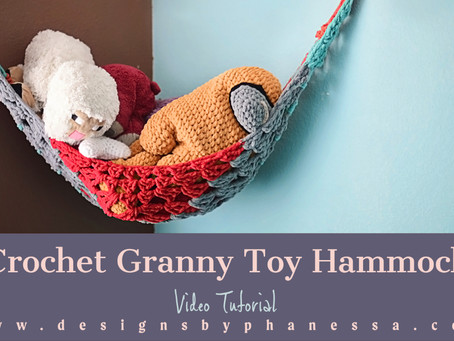 Crochet Toy Hammock Pattern + Tutorial