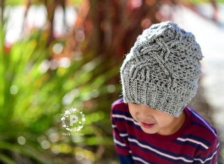 Crochet Celtic Wave Slouch Beanie Pattern & Tutorial