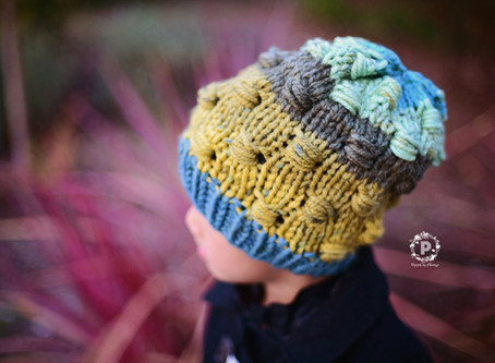 Knit Cluster Slouch Pattern Release