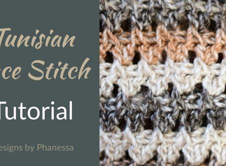 Tunisian Lace Stitch #1 Tutorial