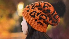 Crochet & Knit Wild Side Slouch Beanie Pattern Release
