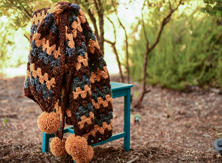 Crochet Chunky Granny Lapghan Pattern