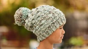 Knit Bella Slouch Beanie Pattern & Tutorial