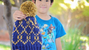 Knit Linked Forever Beanie Pattern Release