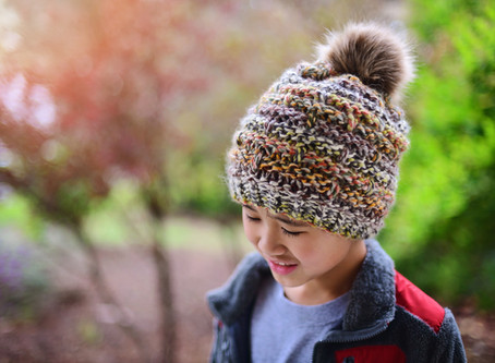 Knit Bellamy Slouch Beanie Pattern & Tutorial