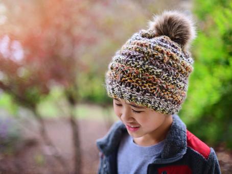 Knit Bellamy Slouch Beanie Pattern & Tutorial