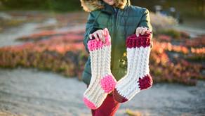 Crochet Christmas Stocking Pattern Tutorial