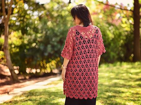 Crochet Oriana Cardigan Pattern Release