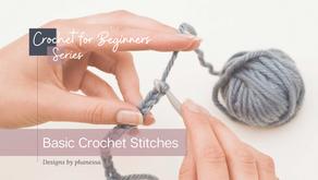 Crochet for Beginners - Basic Crochet Stitches