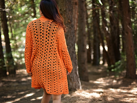 Crochet Sweet Marmalade Cardi Pattern Release
