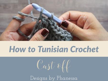 How to Tunisian Crochet - Cast off