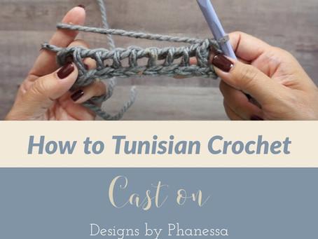 How to Tunisian Crochet - Cast on