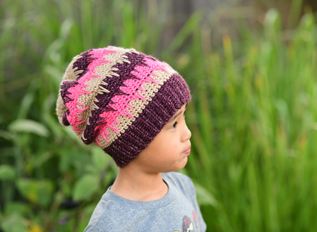 Crochet Spiked Slouch Beanie Pattern & Giveaway!!!
