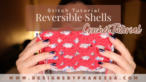 Crochet Reversible Shells Stitch Pattern & Tutorial