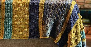 Crochet Velvet Throw Blanket Pattern & Tutorial