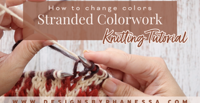 How to Change Colors in Stranded Knitting