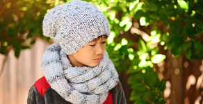 Arctic Slouch Beanie & Infinity Scarf Pattern Release