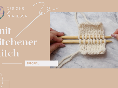 Knit Kitchener Stitch Tutorial