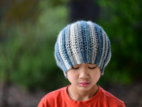 Crochet Quartz Ribbed Beanie Pattern & Tutorial