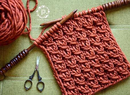 Knit Wrap Mock Stitch Tutorial