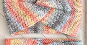 Knit Twisted Headband Pattern & Tutorial