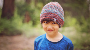 Knit Double Brimmed Beanie Pattern + Tutorial