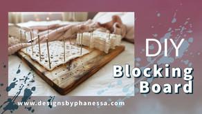 DIY Crochet Blocking Board
