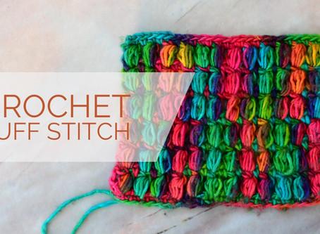 Crochet Puff Stitch Pattern & Tutorial