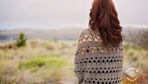 Crochet Aurora Shrug Pattern (updated) & Tutorial