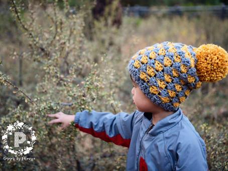 Crochet Fall Slouch Beanie Pattern