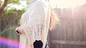 Knit Magnolia Wrap FREE Pattern