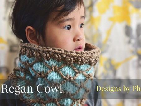 Knit Regan Cowl Pattern & Tutorial