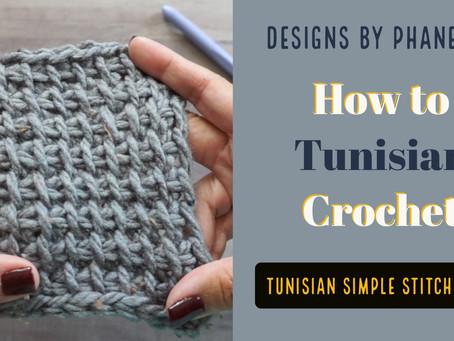 Tunisian Simple Stitch (TSS) Tutorial