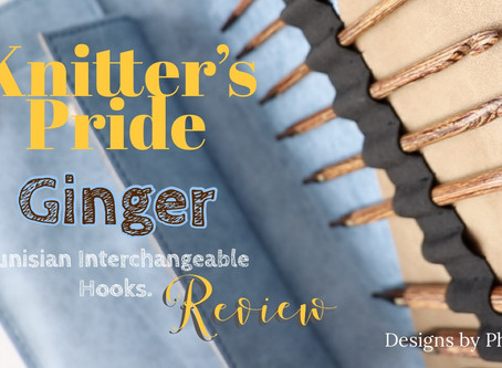 Knitter's Pride Ginger Tunisian Hooks - Review