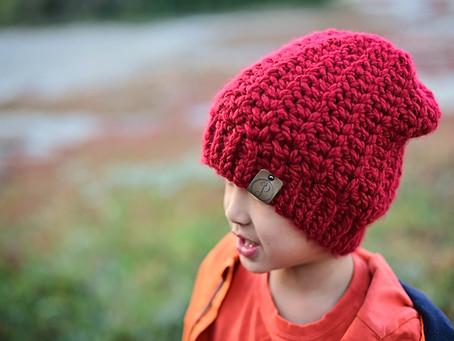 Crochet Coastal Slouch Beanie Pattern Release