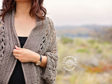 Crochet Aurora Shrug Pattern & Tutorial
